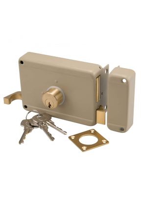 Mechanical Rim Lock (L12 x W8.5 x H..