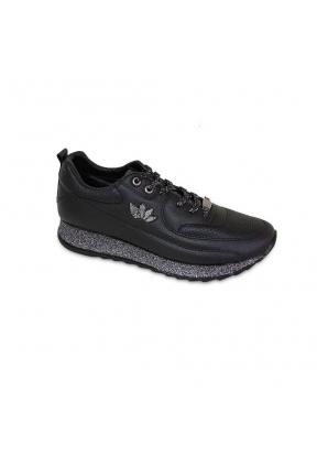 Flet 104 Black Woman's Sneakers..