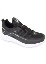 Wickers 2350 Black Men's Sneakers..
