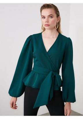 TRENDYOLMİLLA Emerald Green Double ..