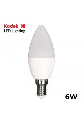 Kodak LED Bulb 6W - C37 E14..