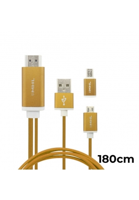 MHL Micro USB To HDMI Adapter Cable..