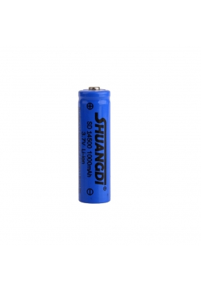 SHUANGDI 14500 Rechargeable Battery..