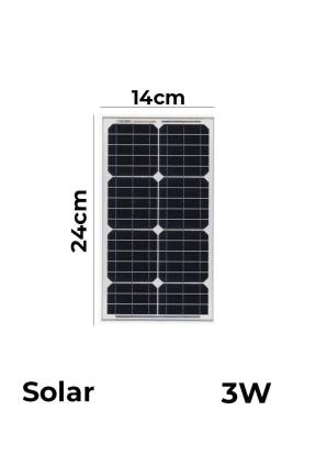 Monocrystalline Solar Panels 9V 3W ..