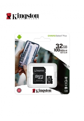 Kingston MicroSD 32GB With Adapter..