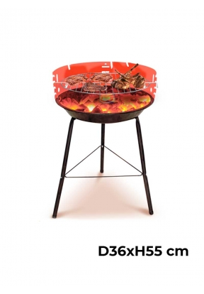 14-Inch Compact Charcoal BBQ Grill ..