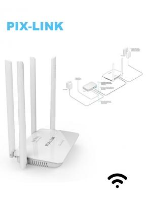 Pix-Link LV-WR08 300Mbps 4-Antenna ..