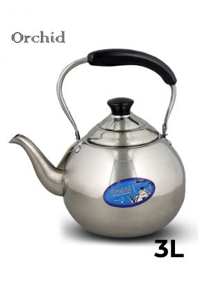 Orchid Stainless Steel Kettle with ..
