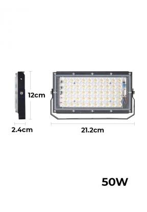 50-LED Waterproof Floodlight Lamp D..