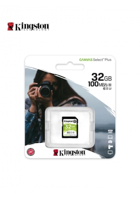 Kingston 32GB SDHC Canvas Select Pl..