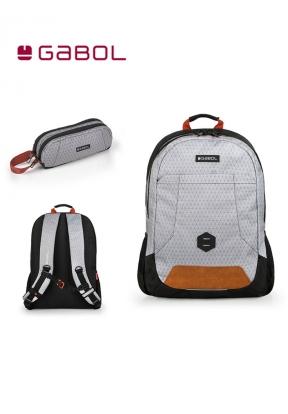Gabol School Bag Cubic Bundle1 Back..