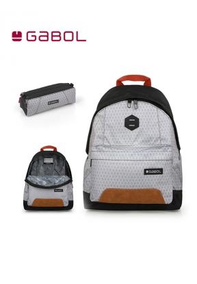 Gabol School Bag Cubic Bundle2 Back..