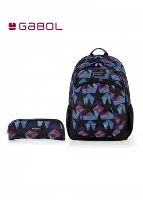 Gabol School Bag Geo Bundle1 For Bo..