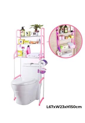 3-Tier Adjustable Shelf Storage Toi..