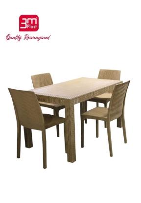 3MPlast Aura Rattan Rectangle Table..