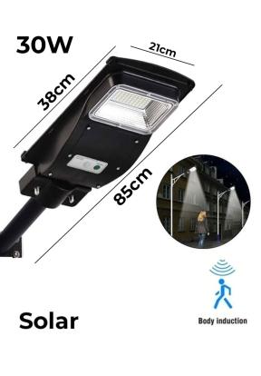 30W 96 LED Solar Integrated Street ..
