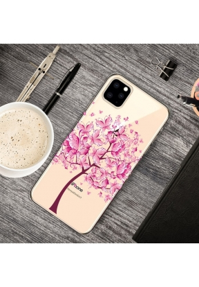 Pattern Printing Clear TPU Cell Pho..