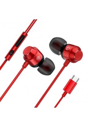 Type-C Metal In-ear Earphone Automa..