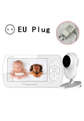 4.3-inch TFT Video Baby Monitor wit..