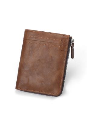 Durable PU Leather Card Slots Bi-fo..