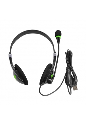 USB Headset with Microphone Noise C..