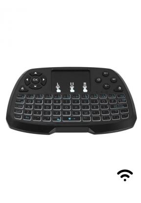 2.4GHz Wireless QWERTY Keyboard Tou..