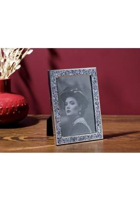 Glossy Metal Frame 13 x 18 Cm - Gre..