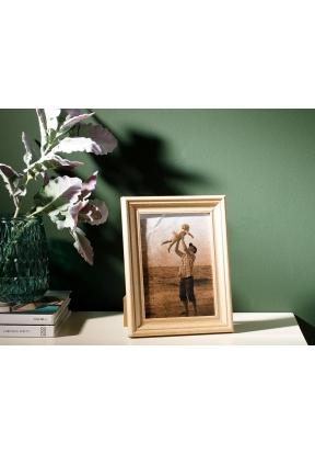 Wooden Mdf Frame 13 x 18 Cm - Brown..