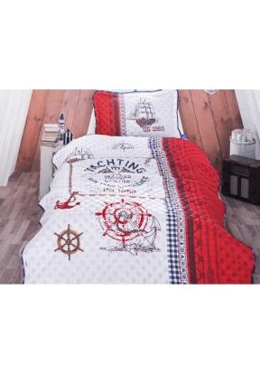 2 Pieces Alesta V1 Single Bedspread..