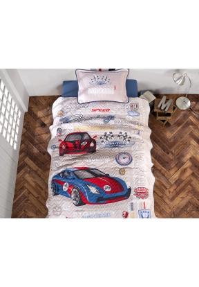 2 Pieces Garage V1 Single Bedspread..