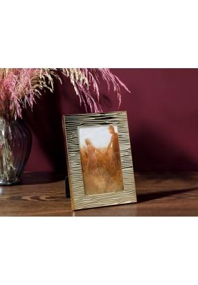 Glam Stripe Metal Frame 14,1 x 19,0..