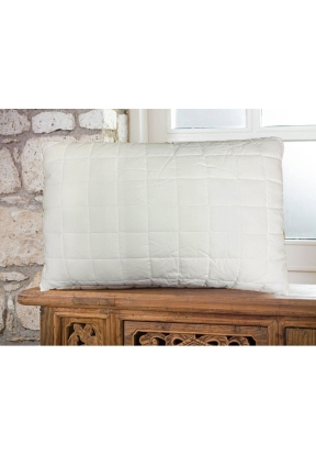 Microfiber Capitone Filled Pillow 5..